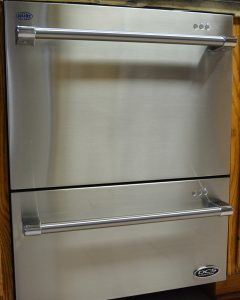 "DCS Fisher and Paykel 24"" Double Dishdrawer"
