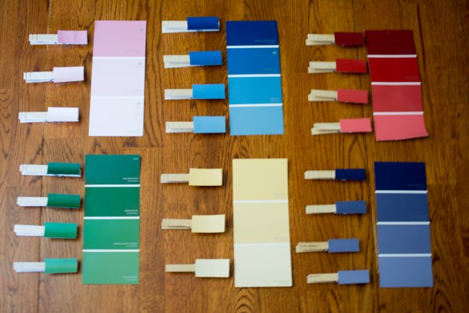Paint Chip Color Match Activity The Out Of Town Jew